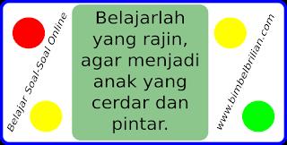 Latihan Soal Online UAS / UKK Bahasa Indonesia Kelas 1 SD Semester 2