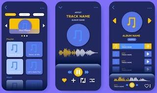 aplikasi pemutar musik di android  terbaik & gratis - online & offline