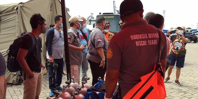 7 Penyelam IDRT Turun Hingga Kedalaman 30 Meter Demi Pastikan Temuan Potongan Pesawat