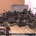 Guarda encontra desmanche com sala de proteção acústica e câmeras de vigilância em Sumaré
