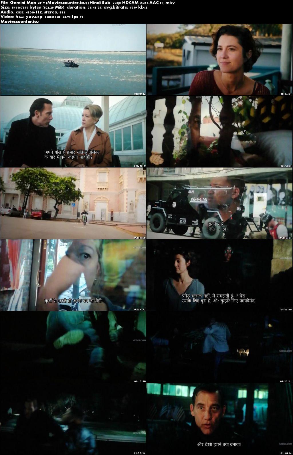 Screen Shots Gemini Man 2019 English HD 720p