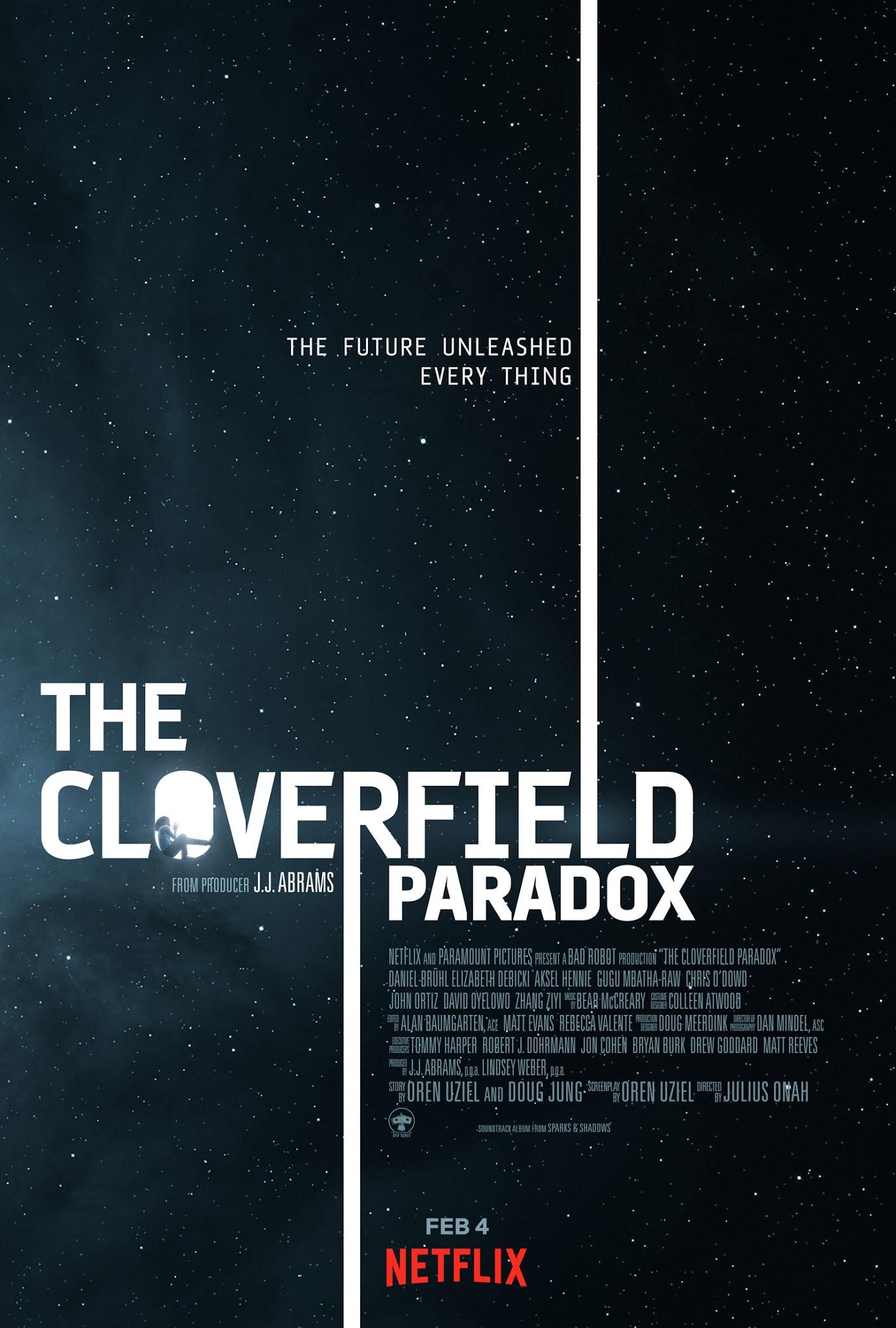 paradoks cloverfield recenzja filmu netflix j.j. abrams