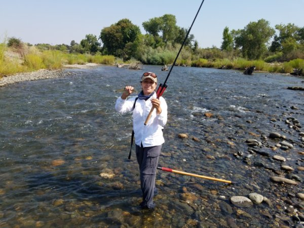 458bd8891f8 My bride Rosie really likes it too for pretty much the same reasons. I also  enjoy making the various tenkara type flies and learning how to fish them.
