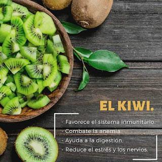 Conoce las Propiedades del Kiwi, ayuda contra la anemia, el estrés, la digestión y el sistema inmunitario