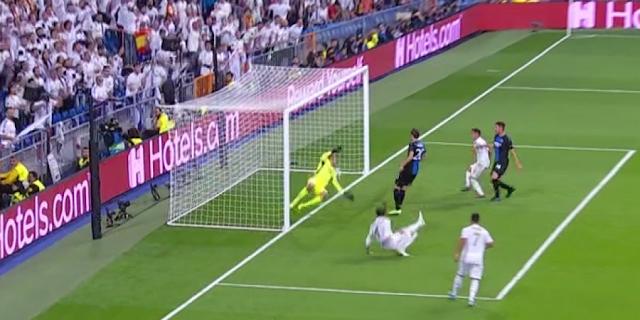 FÚTBOL: Madrid sacó un empate ante las Brujas en liga de campeones.