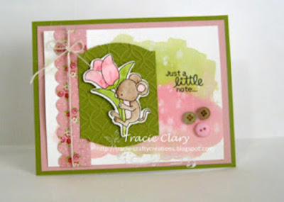 Just a little not by Tracie C. features Garden Mice by Newton's Nook Designs; #newtonsnook