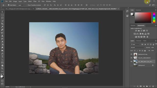 fantasy photo manipulations working guideline screenshots