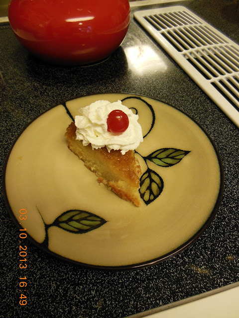 Childhood favorite, Pineapple Upside Down Cake.