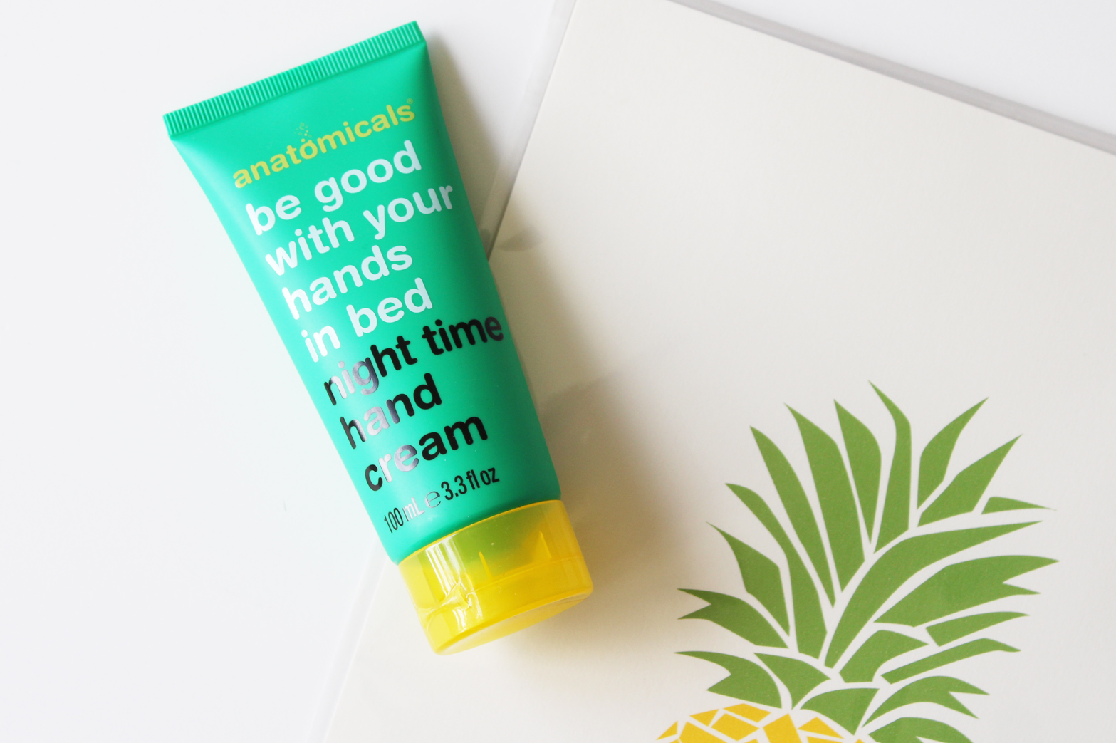 ANATOMICALS | Be Good With Your Hands in Bed Night Time Hand Cream Review - CassandraMyee
