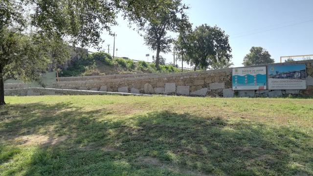 Zona concessionada do Parque de Lazer da Ponte do Bico