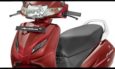 Honda Activa 4G close up shot pics
