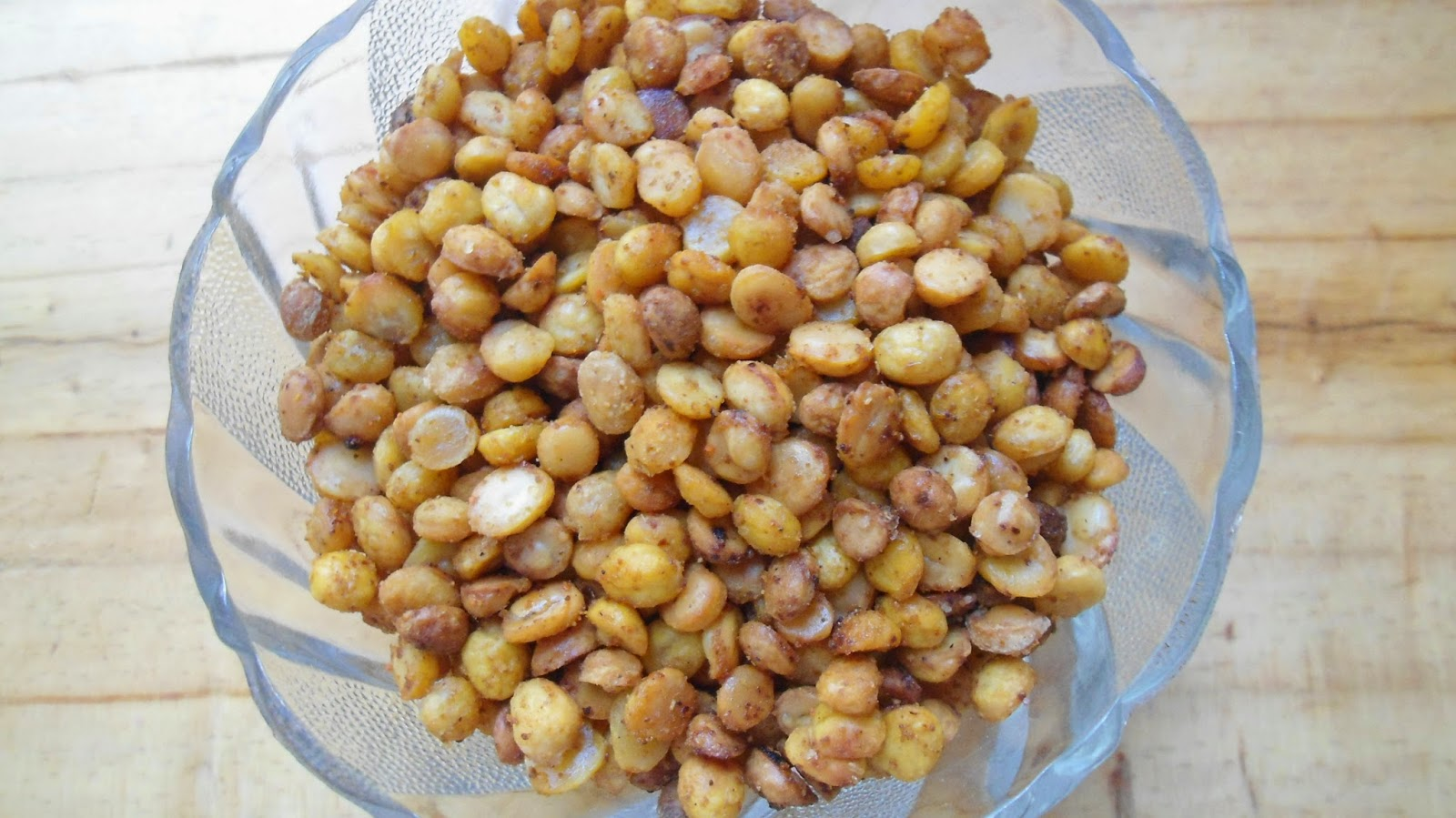 baked channa dal