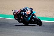 Hasil MotoGP Spanyol - Quartararo Juara, Marquez-Rossi Gagal Finis