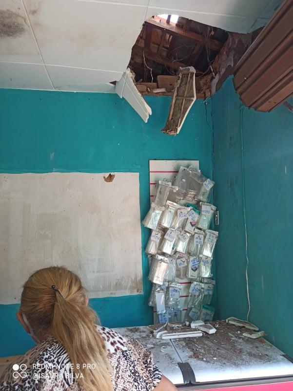 DOIS arrombamentos e furto contra a loja Rei do Celular em Elesbão Veloso, em menos de dois meses.