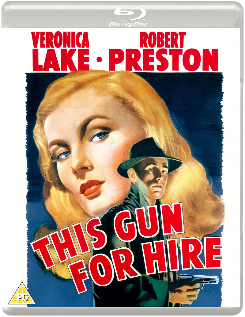 this gun for hire blu-ray