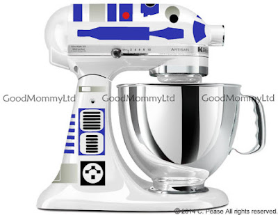 R2D2 decal on Etsy