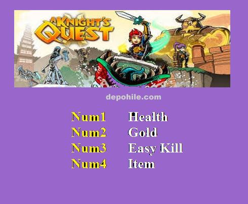 A Knights Quest (PC) Oyunu Can, Altın +4 Trainer Hilesi İndir
