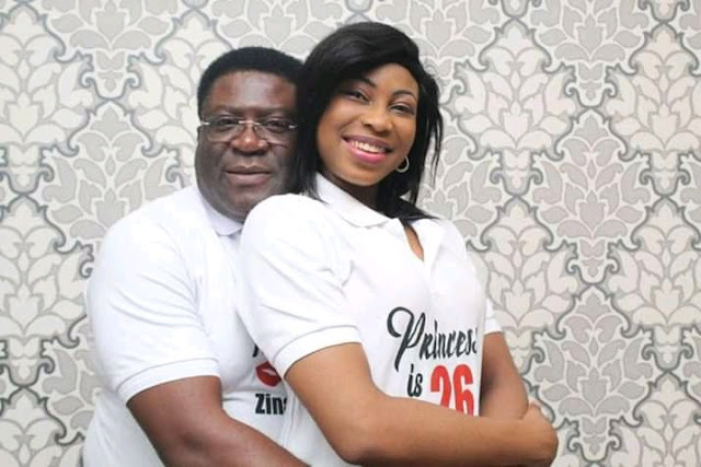 3rd Wife Of Ex Imo Deputy Governor Marks 26th Birthday In Style With Husband (Photos)