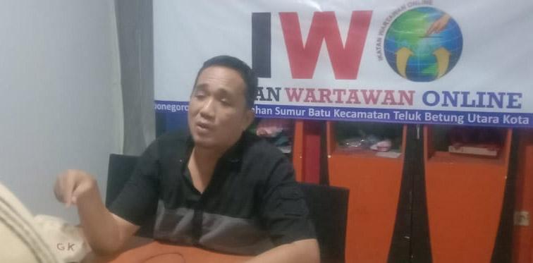 Walikota Balam Ingin Pecahkan Kepala Wartawan, Ketua IWO Lampung Angkat Bicara