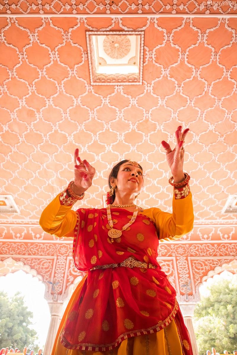 Dr Swati Agarwal kathak dancer Jaipur