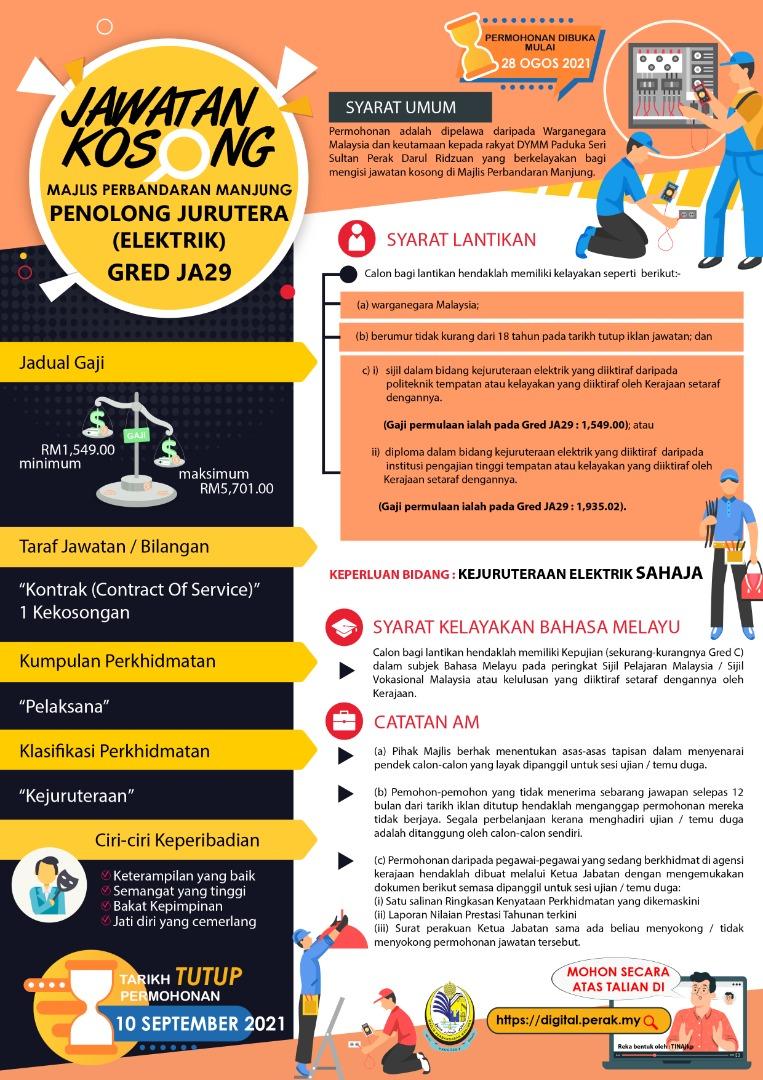 Like FB Page Khas - Kerja Kosong Negeri Perak