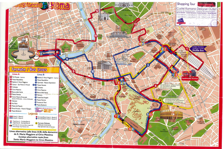 mapa turistico da cidade de roma Se joga na viagem!!!!!!!: Roma   Mapa Turístico mapa turistico da cidade de roma