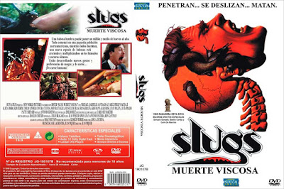 Carátula dvd: Slugs, muerte viscosa