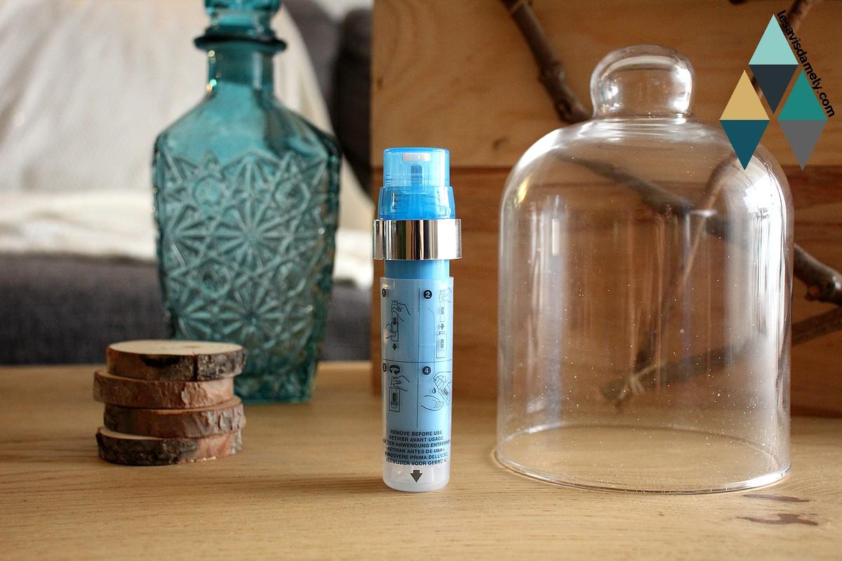 test cartouche actif concentré pores et grain de peau irrégulier