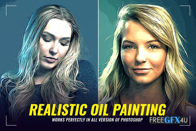 Realistic Oil Painting FX