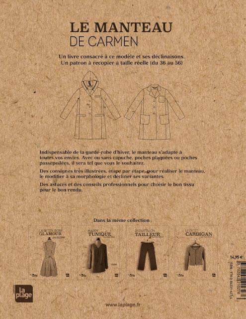 Le Manteau de Carmen Couverture Dos