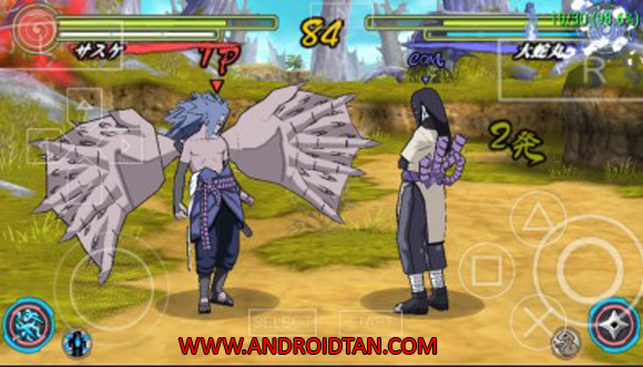 Naruto Shippuden Narutimate Accel 3 ISO/CSO PPSSPP