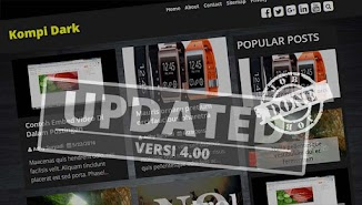 Update Template Premium Kompi Dark v4.00