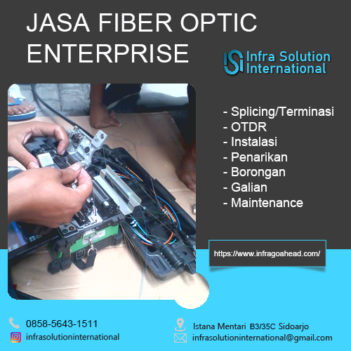Jasa Fiber Optic Pamekasan Enterprise