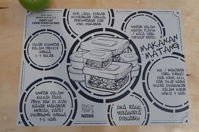 tips menyimpan makanan matang