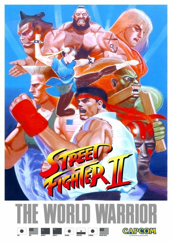 Street Fighter 2: The World Warrior - Arcade/Super Nintendo/Mega-Drive