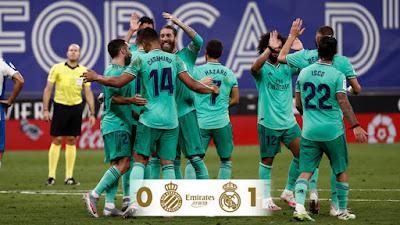 Video Espanyol 0-1 Real Madrid: Người hùng bất ngờ, hiệu quả tối đa