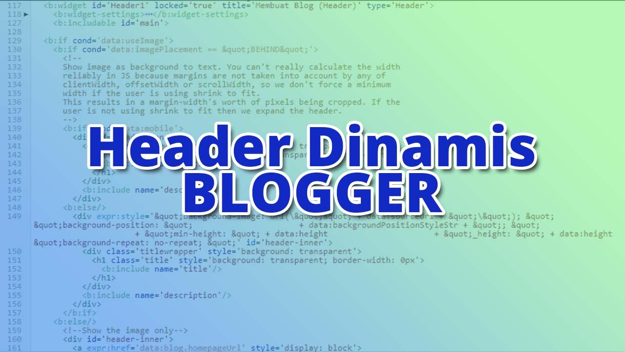 Bagian 2 Lanjutan Belajar Membuat Tema Kustom Blogger Dari Awal