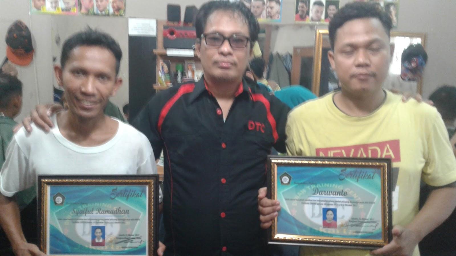 peserta dari kalimalang dan rawa mangun yg selesai di dtc. peserta dari  pisangan jakarta timur ... 7f602ca6b2