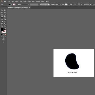 Cara Membuat Teks Mengikuti Object di Adobe Illustrator