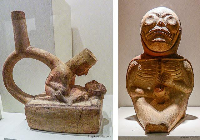Peças da coleção erótica do Museu Larco de Lima, Peru