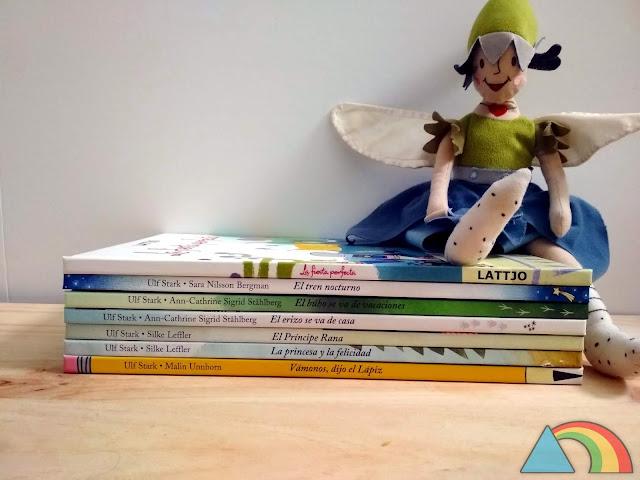 Colección de libros infantiles de Ikea