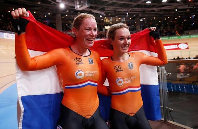Kirsten Wild Amy Pieters Ciclismo países baixos