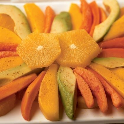 Tropical Fruit with Lime Dressing Recipe