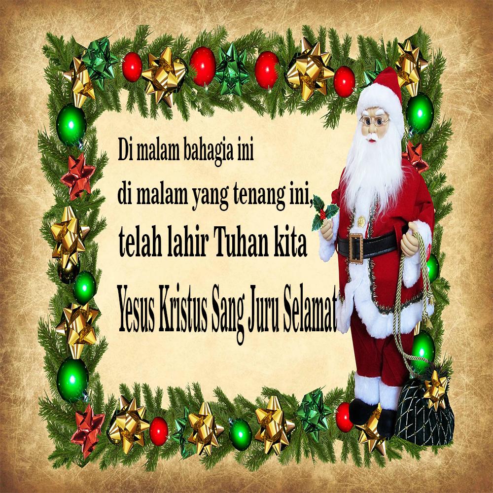 Contoh Kartu Kawan Natal - contoh kartu ucapan
