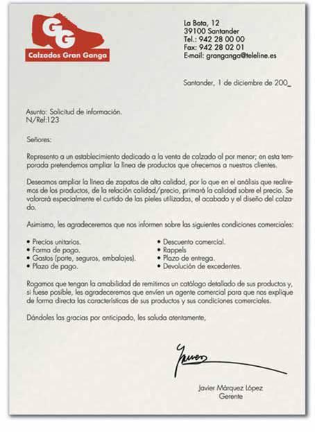 modelos de cartas de solicitud - Ecosia