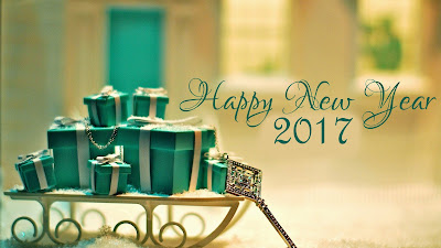 Happy New Year 2017 Gifts Wallpaper For Friends Free Download