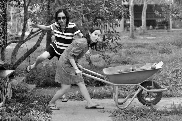 Thăm vườn Sầu Riêng