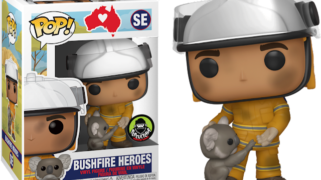 Australian firefighters gets a Pop figure