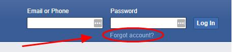Cara Mengatasi Ketika Kita lupa Password Facebook 5