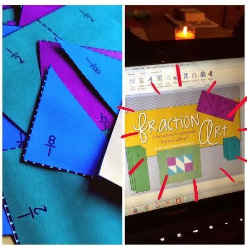 http://www.teacherspayteachers.com/Product/Fraction-Art-An-Adding-Fractions-Activity-1122860